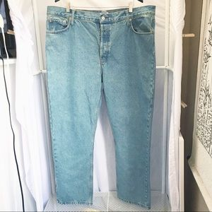 VINTAGE Levi's 501 Relaxed Fit Button Fly Jeans